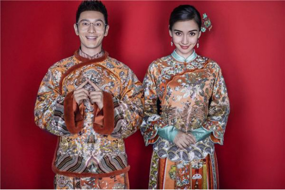 baby和黄晓明、陈妍希和陈晓、林心如和霍建华 娱乐圈婚礼大比拼