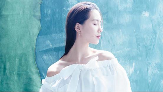 清新脱俗的刘诗诗女神,唯美起来像个仙女