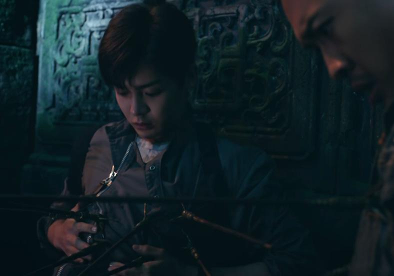怒海潜沙:吴邪等人进入海底墓,阿宁故意踩机关伤人在第几集