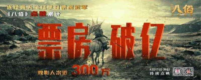 """电影《八佰》预售竟然已过亿?是否能""""救市""""?"""