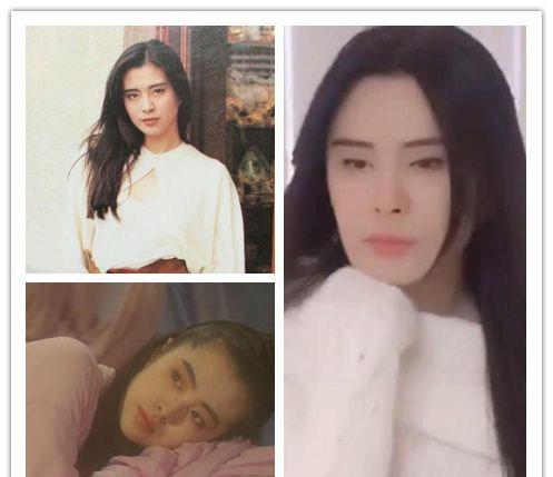 王祖贤近期图片2018,脸型崩女神的迟暮,好怀念年轻时期的王祖贤,那张宛若天仙的脸