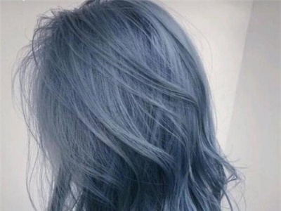 蓝色系头发染发推荐