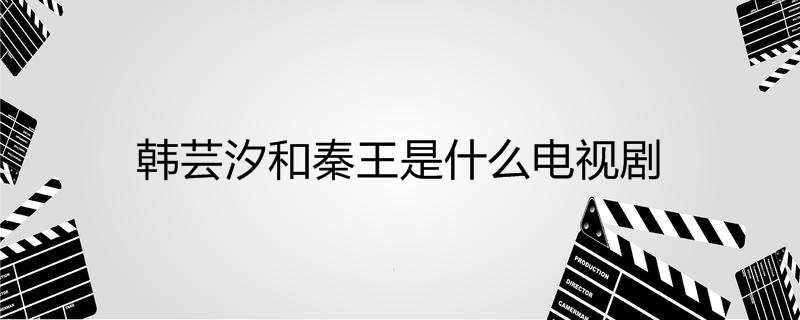 韩芸汐和秦王是什么电视剧