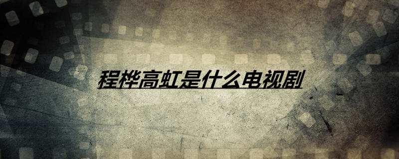 程桦高虹是什么电视剧